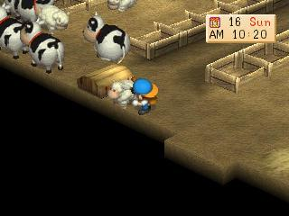Screenshot Thumbnail / Media File 1 for Harvest Moon - Back to Nature [U]